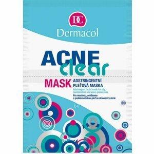 DERMACOL AcneClear Pleťová maska 2 x 8 ml