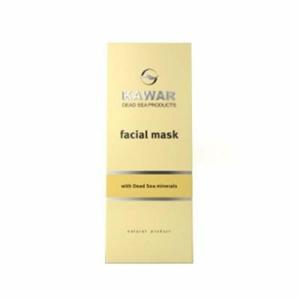 KAWAR Minerální pleťová maska z bahna Mrtvého moře 150 ml
