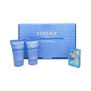 Versace Man Eau Fraiche Toaletní voda 5ml Edt 5ml + 25ml sprchový gel + 25ml balsam po holení