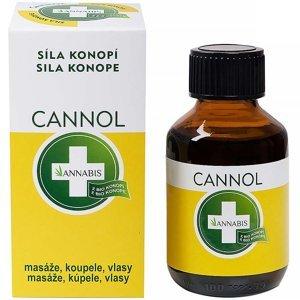 ANNABIS Cannol - konopný olej (masáž, koupel, vlasy) 100 ml