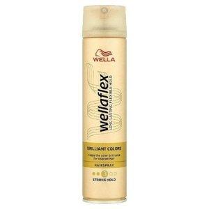 WELLAFLEX  Wellaflex Brilliant Colors lak na vlasy Strong Hold 250 ml