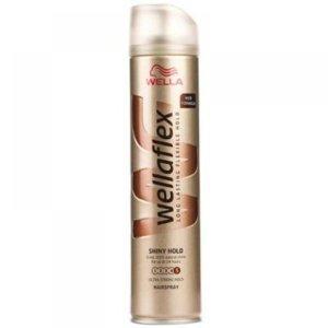 WELLAFLEX Shine&hold lak na vlasy 250 ml