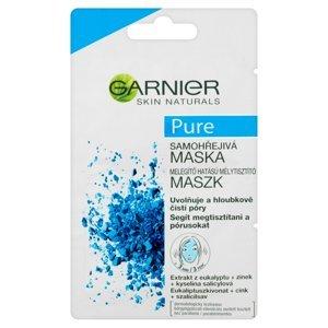 GARNIER Skin Naturals Pure Samohřejivá maska 2x6 ml