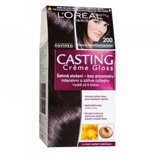 L'ORÉAL Casting Crème Gloss číslo 200 Ebenová černá