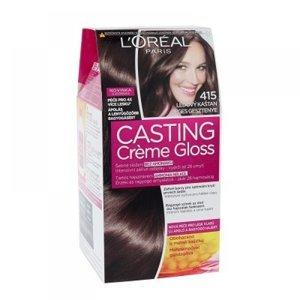 L'ORÉAL Casting Creme Gloss číslo 415 Ledový kaštan