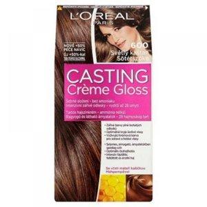 L'ORÉAL Casting Creme Gloss číslo 600 Světlý kaštan