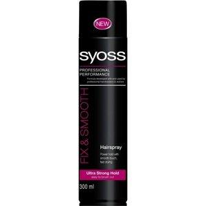 SYOSS Lak na vlasy Shine&Hold 300 ml