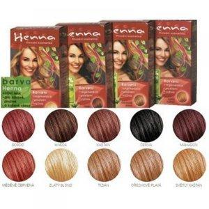 HENNA barva mahagonová 33 g
