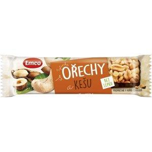 EMCO Tyčinka Ořechy a kešu bez lepku 35g
