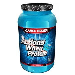 AMINOSTAR Whey protein actions 65 jahoda 2000 g