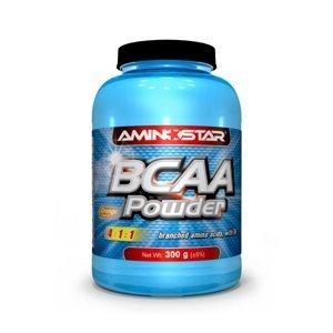 AMINOSTAR BCAA Powder 300 g - Pomeranč