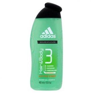 ADIDAS Men A3 Hair&Body Sprchový gel Active Start 400 ml