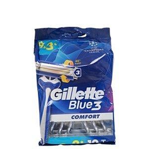 GILLETTE Blue3 Sensitive Jednorázový holicí strojek 12 ks
