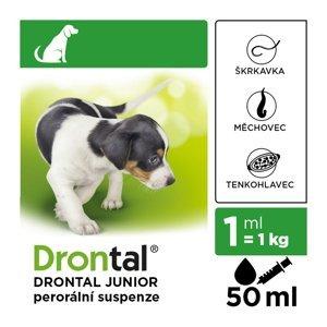 DRONTAL Junior pro psy suspenze a.u.v. 50 ml + aplikátor