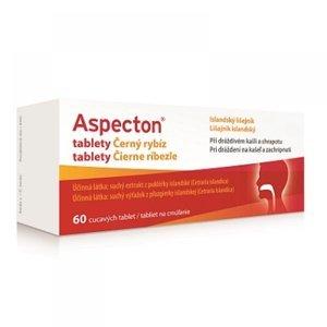 APOTEX Aspecton tablety na kašel černý rybíz 60 ks