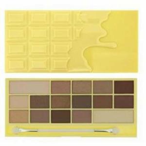 MAKEUP REVOLUTION LONDONI I Heart Makeup Naked Chocolate Palette Zázračná paletka očních stínů Bílá čokoláda
