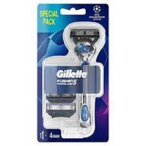 GILLETTE Fusion Proglide FlexBall Holící strojek + Náhradní hlavice 4 ks