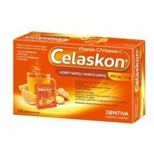 CELASKON Horký nápoj 300 mg + Zinek 5 mg 14 sáčků