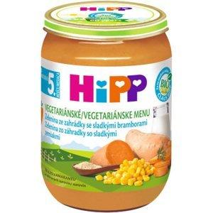 HiPP BIO Zelenina ze zahrádky se sladkými bramborami 190 g