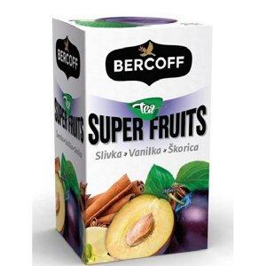 BERCOFF KLEMBER Super Fruits Švestka, Vanilka, Skořice 20 sáčků