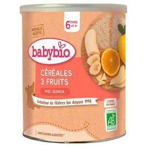 BABYBIO Nemléčná rýžovoquinoová kaše s ovocem 220 g