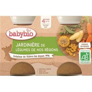 BABYBIO Zeleninová směs 2x130 g