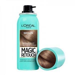L'ORÉAL Magic Retouch Vlasový korektor šedin a odrostů 03 Brown 75 ml