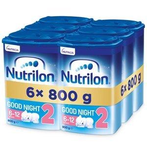 NUTRILON 2 Good Night Pokračovací kojenecké mléko od 6-12 měsíců 6x 800 g
