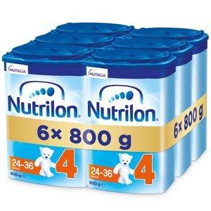 NUTRILON 4 Advanced Pokračovací batolecí mléko od 24-36 měsíců 6 x 800 g