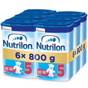 NUTRILON 5 Advanced Pokračovací batolecí mléko od 36 měsíců 6 x 800 g