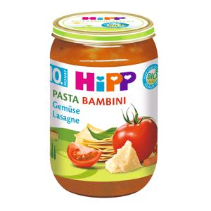 HiPP Junior BIO Pasta Bambini Zeleninové lasagne 220 g