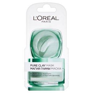 L´OREAL Pure Clay Purity maska- Sachet 6 ml