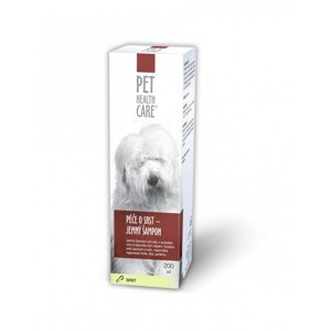 PET HEALTH CARE Péče o srst  jemný šampon pro psy 200 ml