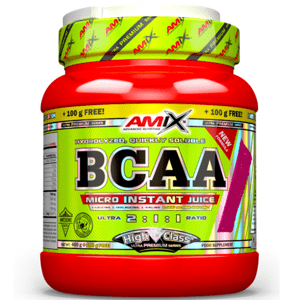 AMIX BCAA Micro Instant Juice 500 g - Pomeranč