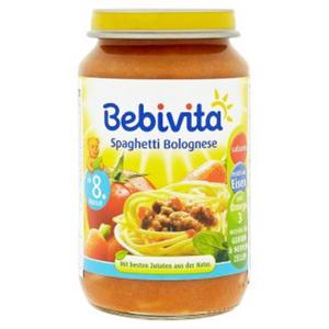BEBIVITA Menu Boloňské špagety od 8.měsíce 220 g