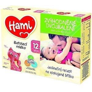 HAMI 12+ Zvýhodněné dvojbalení 2x600 g