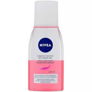 NIVEA Dvoufázový odličovač očí a make-upu růžový 125 ml