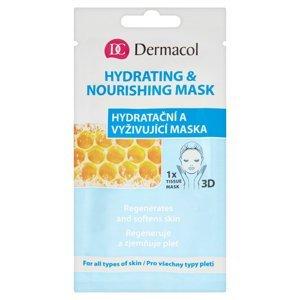 DERMACOL Hydratační a vyživující maska 15 ml