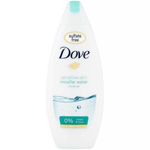 DOVE Sensitive Skin micelární sprchový gel 250 ml