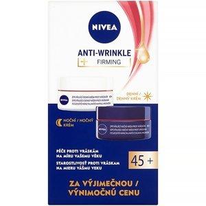 NIVEA Zpevňující denní a noční krém proti vráskám 45+ 2x 50 ml