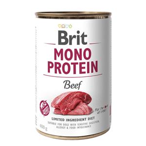 Brit MONO PROTEIN Beef konzerva pro psy 400 g