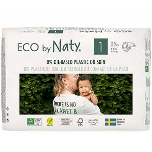 NATY Ekoplenky pro novorozence 2-5 kg 25 ks