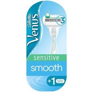 GILLETTE Venus Sensitive Smooth Holící strojek pro ženy + Náhradní hlavice 2 ks