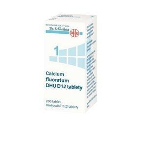 DR. SCHÜSSLERA Calcium fluoratum DHU D12 No.1 200 tablet