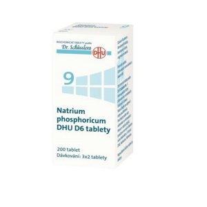 DR. SCHÜSSLERA Natrium phosphoricum DHU D6 No.9 200 tablet