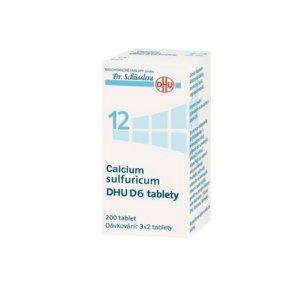 DR. SCHÜSSLERA Calcium sulfuricum DHU D6 No.12 200 tablet
