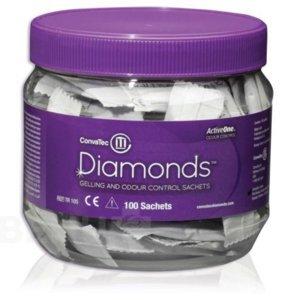 DIAMONDS Gelující sáčky 100 ks