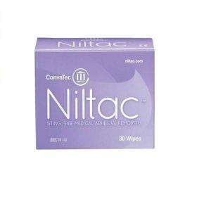 NILTAC Odstraňovač medic.adheziv ubrousky 30 ks