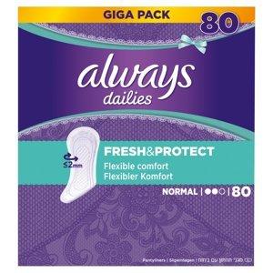 ALWAYS Fresh&Protect Normal Intimní vložky 80 ks