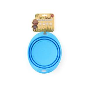BECO Bowl Travel EKO Cestovní miska pro psy modrá L